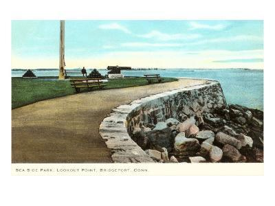 Sea Side Park, Bridgeport, Connecticut--Art Print