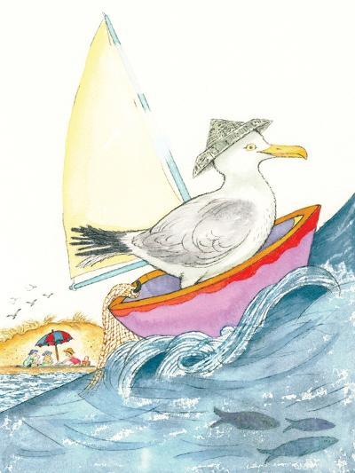 Sea Song - Playmate-Marsha Winborn-Giclee Print