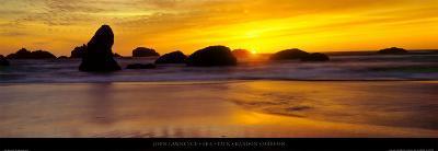 Sea Stack - Bandon - Oregon-John Lawrence-Art Print