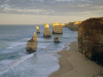 Sea Stacks on the Coast, the Twelve Apostles, Great Ocean Road, Victoria, Australia-Gavin Hellier-Photographic Print