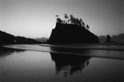 Sea Stacks, Second Beach, Olympic National Park, Washington, USA-Inger Hogstrom-Photographic Print