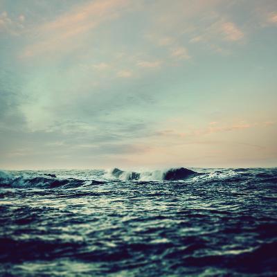 Sea Surf- Icollection-Photographic Print