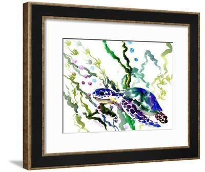 Sea Turtle 5-Suren Nersisyan-Framed Art Print