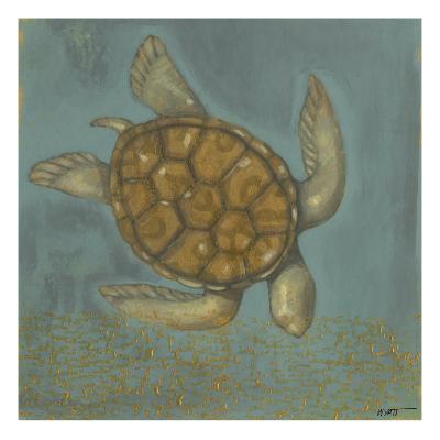 Sea Turtle I-Norman Wyatt Jr^-Art Print