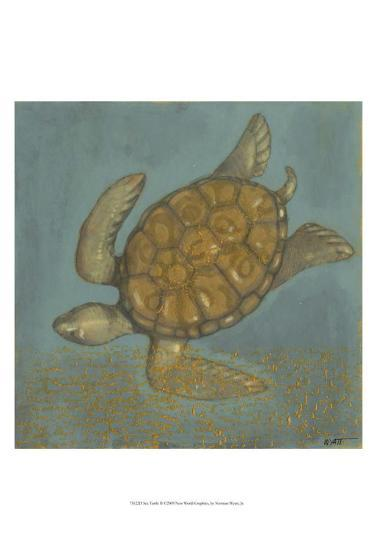 Sea Turtle II-Norman Wyatt Jr^-Art Print