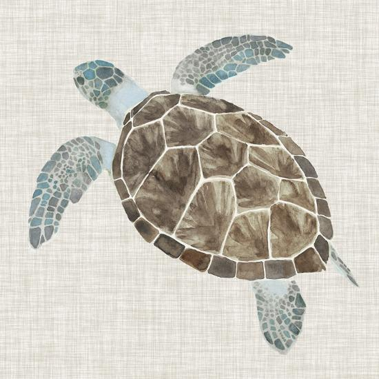 Sea Turtle II-Naomi McCavitt-Premium Giclee Print