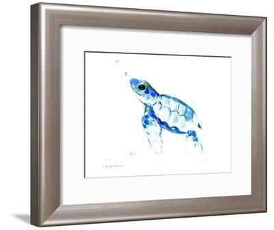 Sea Turtle-Suren Nersisyan-Framed Art Print