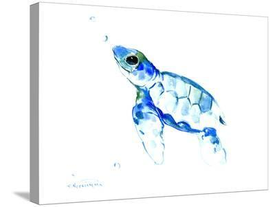 Sea Turtle-Suren Nersisyan-Stretched Canvas Print