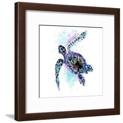 Sea Turtle-Suren Nersisyan-Framed Art Print