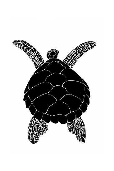 Sea Turtle-vvoevale-Art Print