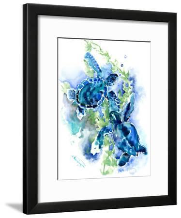 Sea Turtles 1-Suren Nersisyan-Framed Art Print