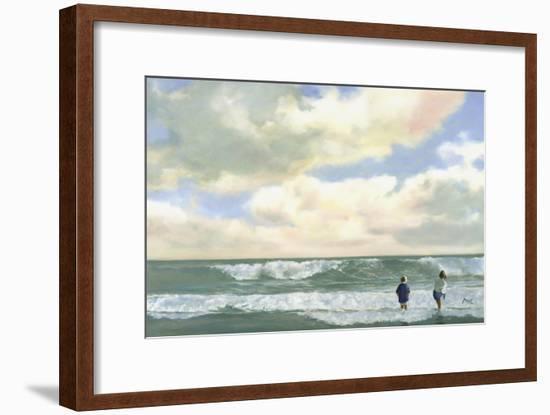 Sea-Mark Van Crombrugge-Framed Art Print