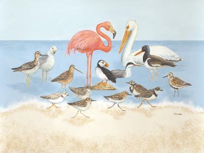Seabird Summit-Wendy Russell-Art Print