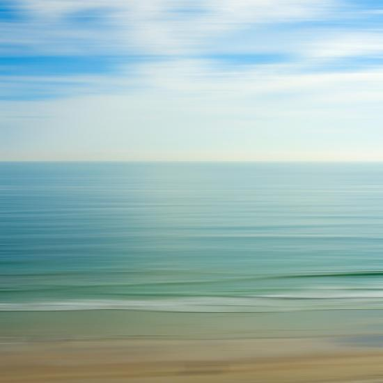 Seacoast 17-David E Rowell-Art Print