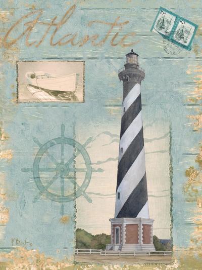 Seacoast Lighthouse I-Paul Brent-Art Print