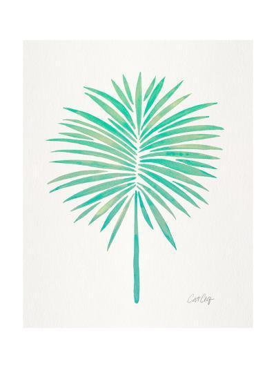 Seafoam Fan Palm-Cat Coquillette-Giclee Print