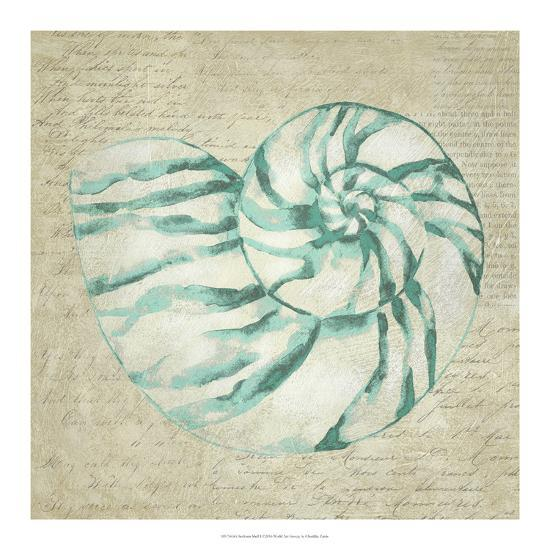 Seafoam Shell I-Chariklia Zarris-Art Print