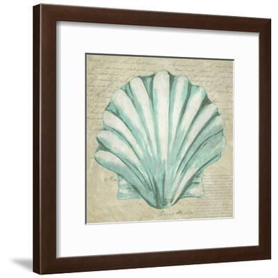 Seafoam Shell II-Chariklia Zarris-Framed Art Print