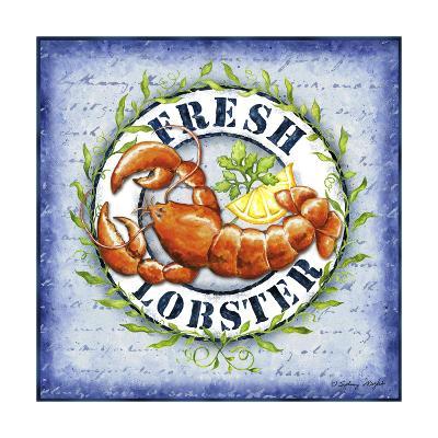 Seafood Sign IV-Sydney Wright-Art Print