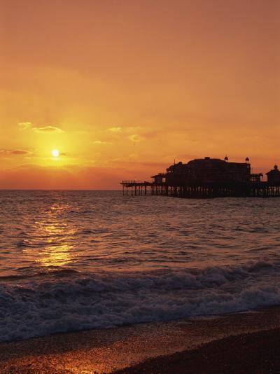 Seafront, Brighton, Sussex, England, United Kingdom, Europe-Amanda Hall-Photographic Print