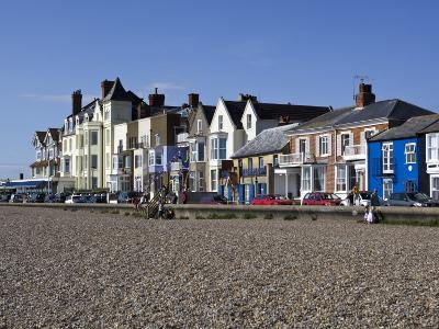 Seafront Buildings at Aldeburgh-Neil Setchfield-Photographic Print