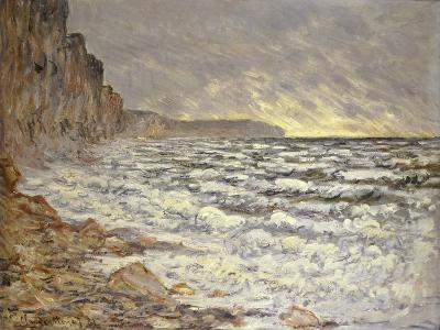 Seafront, Fécamp, 1881-Claude Monet-Giclee Print