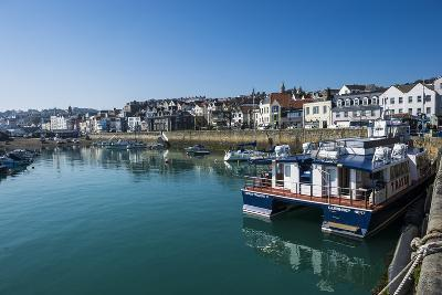 Seafront of Saint Peter Port, Guernsey, Channel Islands, United Kingdom-Michael Runkel-Photographic Print