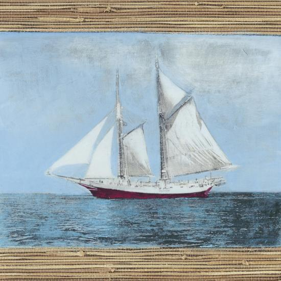 Seagrass Nautical II-Naomi McCavitt-Art Print