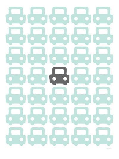 Seagreen Parking Lot-Avalisa-Art Print
