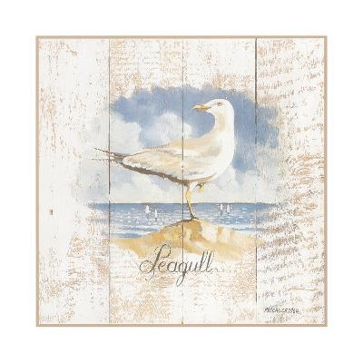 Seagull-Pascal Cessou-Art Print