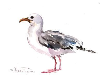 Seagull-Suren Nersisyan-Art Print