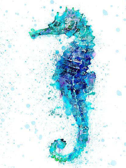 Seahorse 1-Lebens Art-Art Print