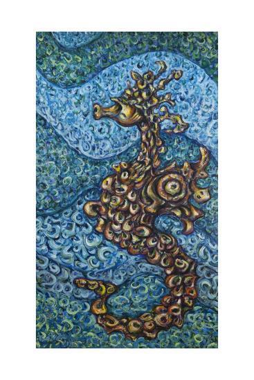 Seahorse, 2014,-Xavier Cortada-Giclee Print