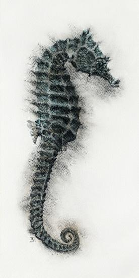 Seahorse I-Hilary Armstrong-Giclee Print