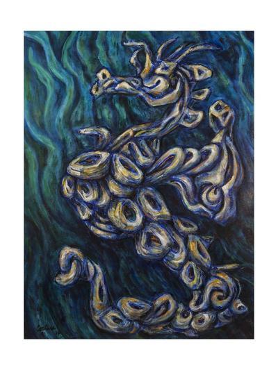Seahorse Society: West, 2014-Xavier Cortada-Giclee Print