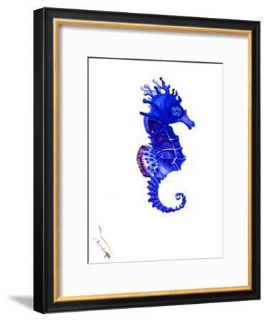 Seahorse-Suren Nersisyan-Framed Art Print