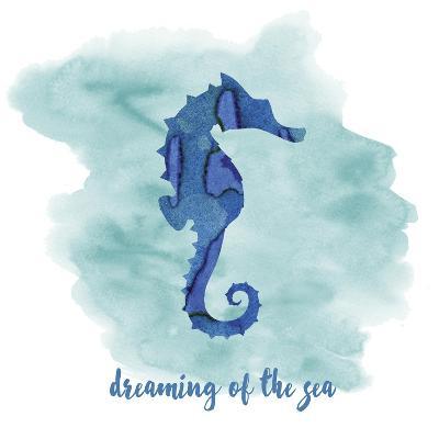 Seahorse-Erin Clark-Giclee Print