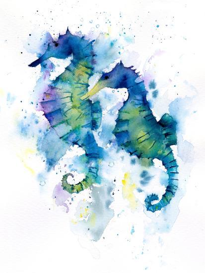 Seahorses-Rachel McNaughton-Art Print