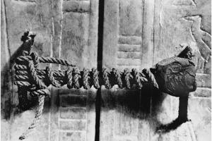 Seal at the Door to the Tomb of Tutankhamun