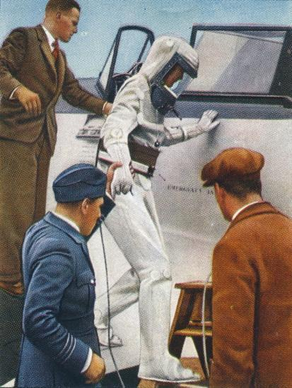 Sealed flying suit, 1938-Unknown-Giclee Print