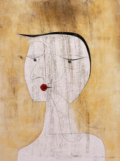 Sealed Woman-Paul Klee-Premium Giclee Print