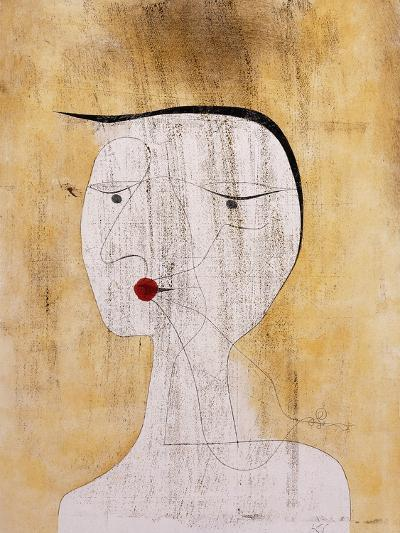 Sealed Woman-Paul Klee-Giclee Print