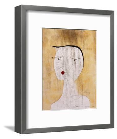 Sealed Woman-Paul Klee-Framed Giclee Print