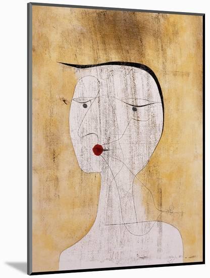Sealed Woman-Paul Klee-Mounted Giclee Print
