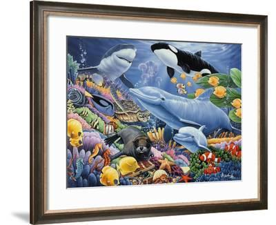 Sealife-Jenny Newland-Framed Giclee Print