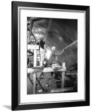Seam Painting on the Rainbow--Framed Photographic Print