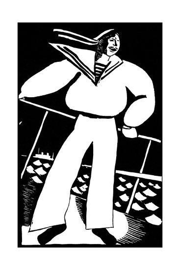 Seaman, 1919-Vladimir Ivanovich Kozlinsky-Giclee Print