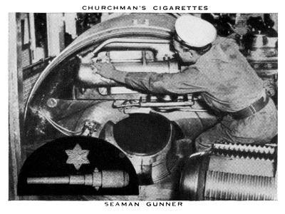 Seaman Gunner, 1937- WA & AC Churchman-Giclee Print