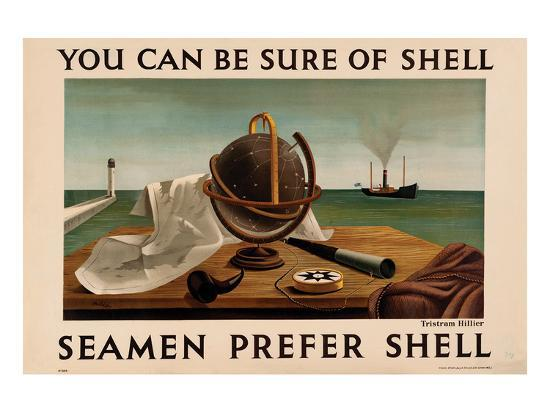Seamen Prefer Shell--Art Print