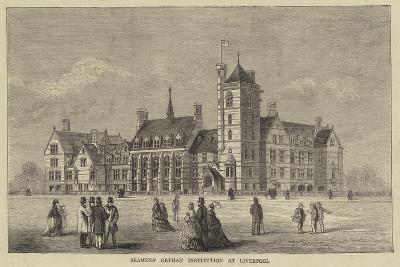 Seamens' Orphan Institution at Liverpool--Giclee Print